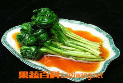 果蔬百科凉拌韭菜
